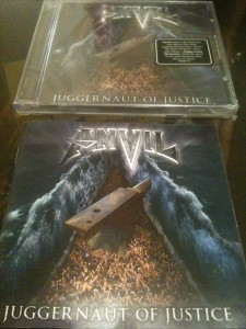 ANVIL's Juggernaut of Justice, with an additional sleeve...