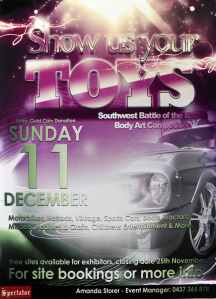 FOR IMMEDIATE RELEASE: Show us Your Toys 2011