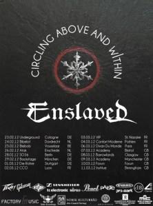 ENSLAVED to hit Europe Feb/Mar 2012