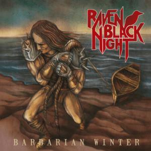 Raven Black Night Barbarian Winter Cover Art