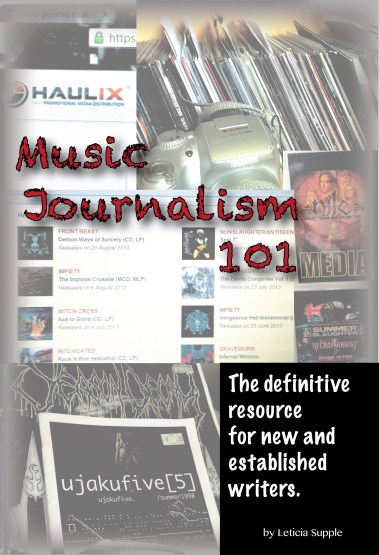Music Journalism 101: The Definitive Resource for New and Established Writers - COVER ART