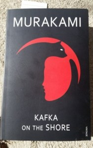 Photograph of the cover of Kafka on the Shore, by Harui Murakami.