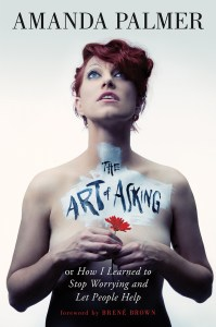 Cover art - The Art of Asking by Amanda Palmer