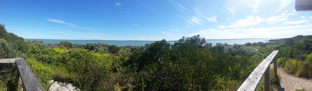 Panorama of the Coorong in October 2016