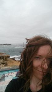 Selfie taken at Thunder Point, Victoria