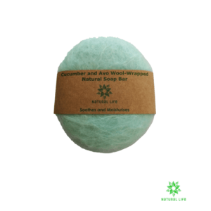 Wool_wrapped_Natural_soap_bar_cucumber_and_avo_mint_300x300