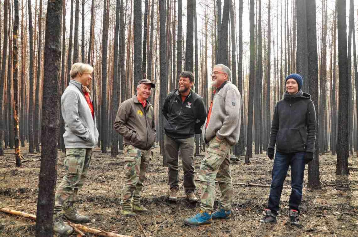 Forest Fire Treuebrietzen Brandenburg