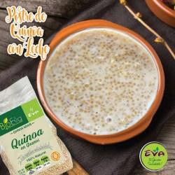 postre quinoa con leche