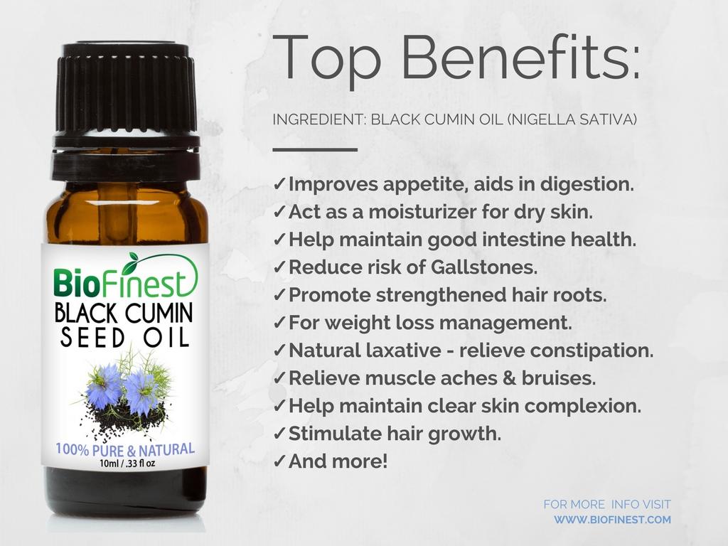 Biofinest 100 Organic Black Cumin Oil Best Moisturizer