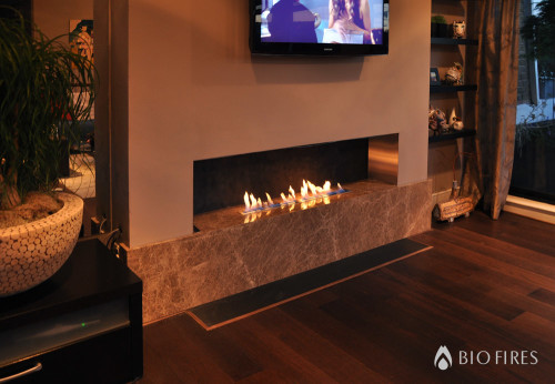how to decorate a living room with fireplace and tv leather furniture ideas for rooms placement of television sets ethanol fireplaces | bio ...