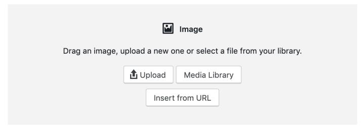 Opciones de bloqueo de imagen de WordPress para tutoriales de WordPress