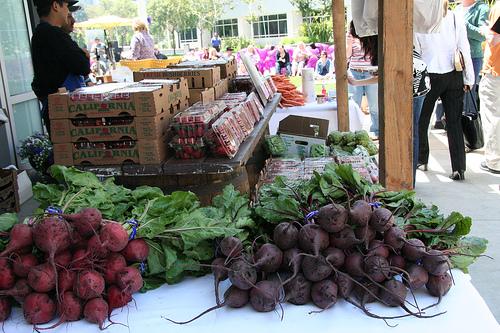 Farmer's Market - fresh fruits and veggies