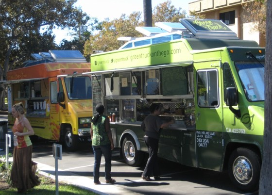 Green Truck food truck image by BiofriendlyBlog