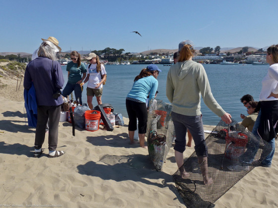 Morro Bay, CA Sandspit  Coastal Cleanup Day (CCD)