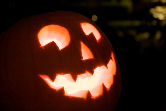 Halloween Jack-O'-Lantern pumpkin tricks treats