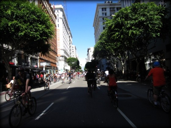 CicLAvia - Riding Through the Streets of LA