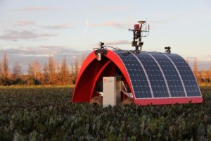Ladybird solar powered farmbot