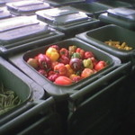food bins waste renewable energy