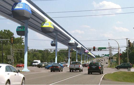 JPods sustainable transportation PRT