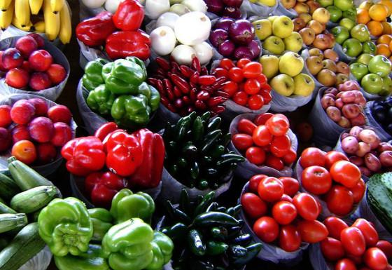 fresh produce meatless