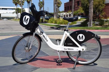 Metro share bicycle