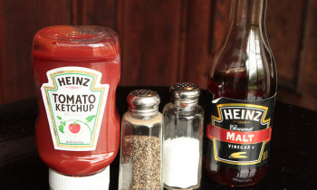 spring cleaning condiments