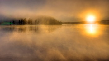 Mist off the Lake