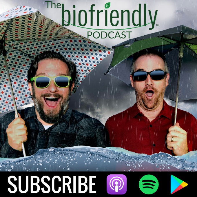 The Biofriendly Podcast - A beacon of light in a gloomy environment. Airs Thursdays and Mondays on iTunes, Spotify, Google Podcasts or iHeartRadio