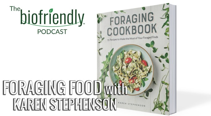 The Biofriendly Podcast - Episode 73 - Foraging Food with Karen Stephenson