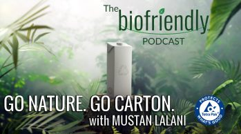 Go Nature. Go Carton. with Mustan Lalani