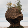 The Hopewell Rocks of New Brunswick