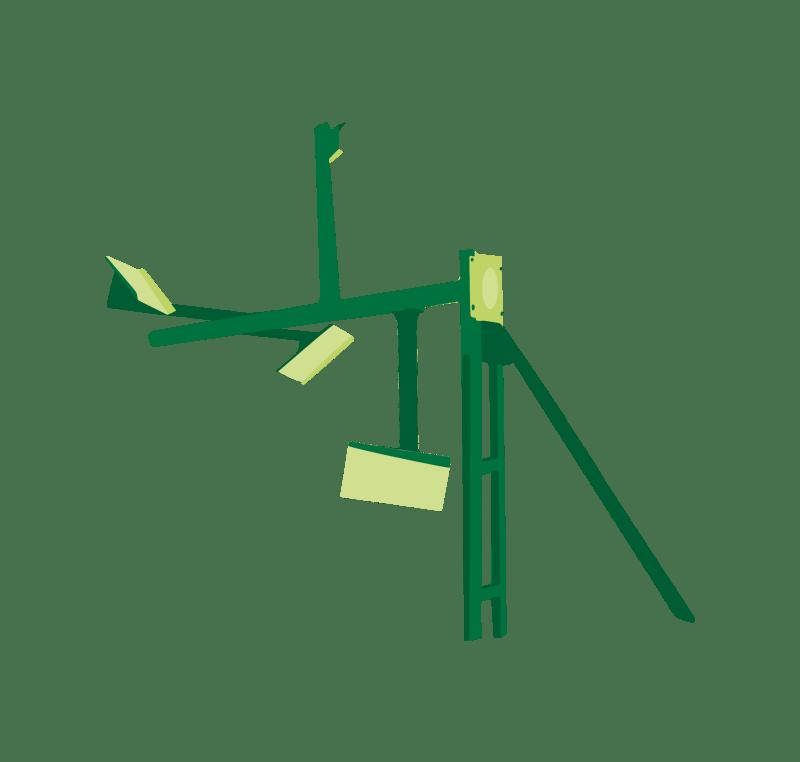 Agitateur Agitateur à pales Varibull Biogastechnk Süd GmbH