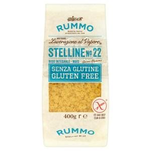 Stelline rummo senza glutine mais e riso integrale