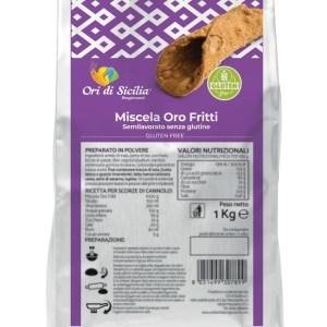 Oro fritti ori di sicilia senza glutine e senza lattosio