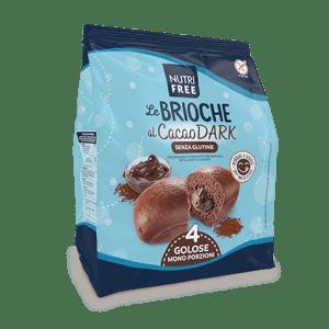 Le brioche al cacao dark nutrifree senza glutine