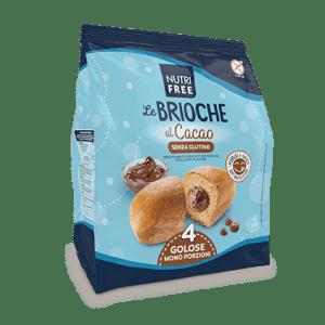 Le brioche al cacao nutrifree senza glutine