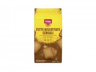 Fette biscottate cereali schar senza glutine e senza lattosio