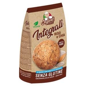 Biscotti riso e chia Inglese senza glutine e senza lattosio