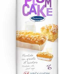plumcake con granella di zucchero bononia senza glutine