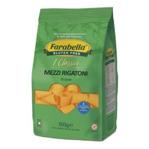 Mezzi rigatoni farabella senza glutine e senza lattosio