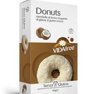 Donuts al cocco vidafree senza glutine