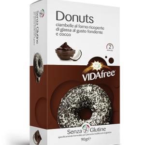 Donuts cioccolato fondente e cocco vidafree senza glutine