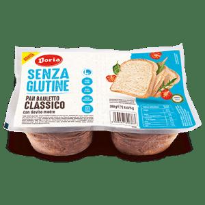 Pan bauletto classico senza glutine e senza lattosio