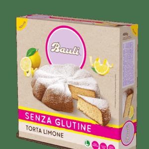Torta al limone bauli senza glutine e senza lattosio