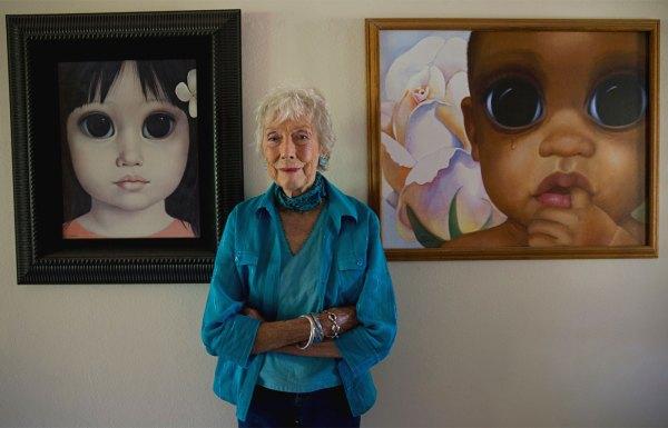 Margaret Keane Big Eye Paintings