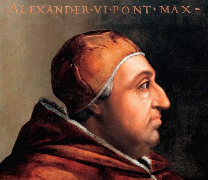 Papa Alexandre Vi, pai de Lucrécia Bórgia