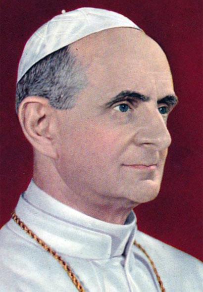 Giovanni Battista Montini, Papa Pablo VI