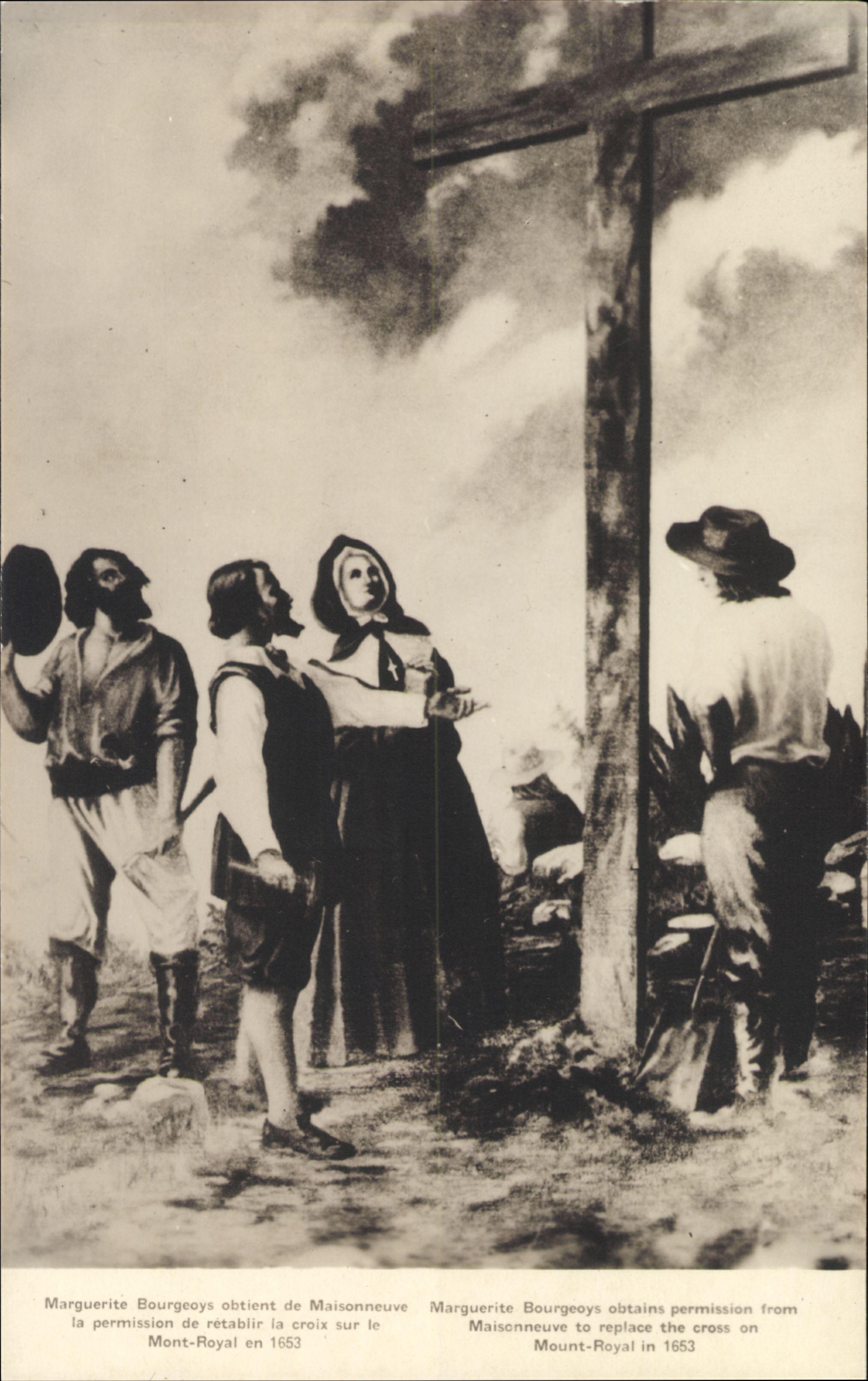 Biographie  BOURGEOYS MARGUERITE dite du Saint