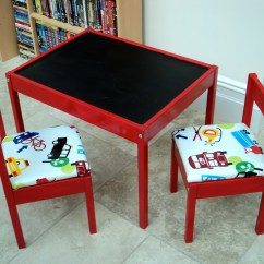 Ikea Toddler Chair Steel Vinyl Hackery Latt Table And Chairs Biographia Domestica