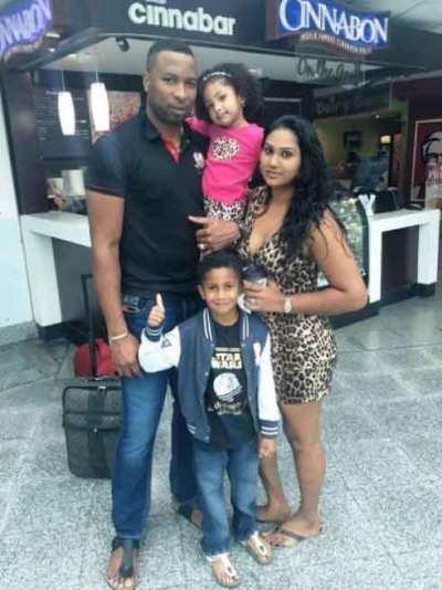 Kieron-Pollard-family